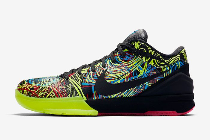 Nike Kobe 4 Protro Wizenard Cv3469 001 Lateral