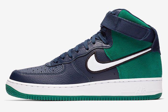 Nike Air Force 1 High Seahawks Release 1