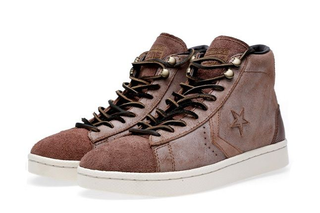 Converse First String Pro Leather Mid Zip 7