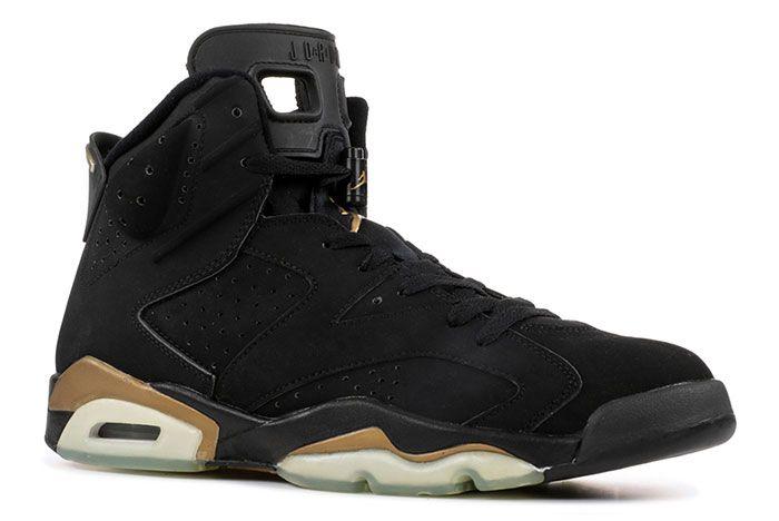 Air Jordan 6 Dmp Defining Moments 2020 Black Gold Release Date 1 Side
