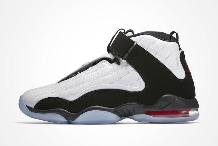 Nike Air Penny 4 White True Redfeature