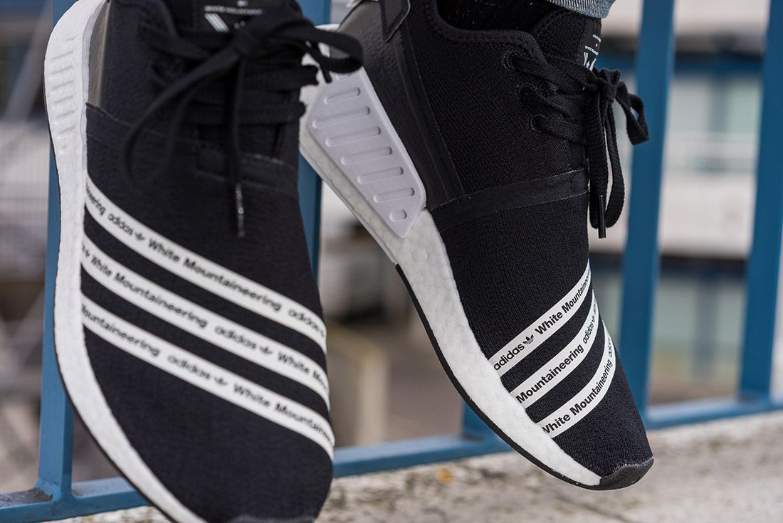White Mountaineering Adidas Nmd R2 4