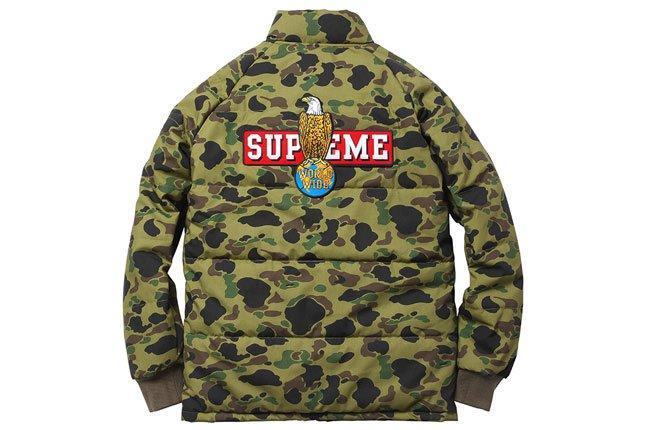 Supreme World Wide Puffer Jacket 1