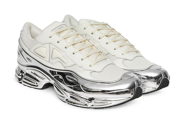 Raf Simons Ozweego White Chrome