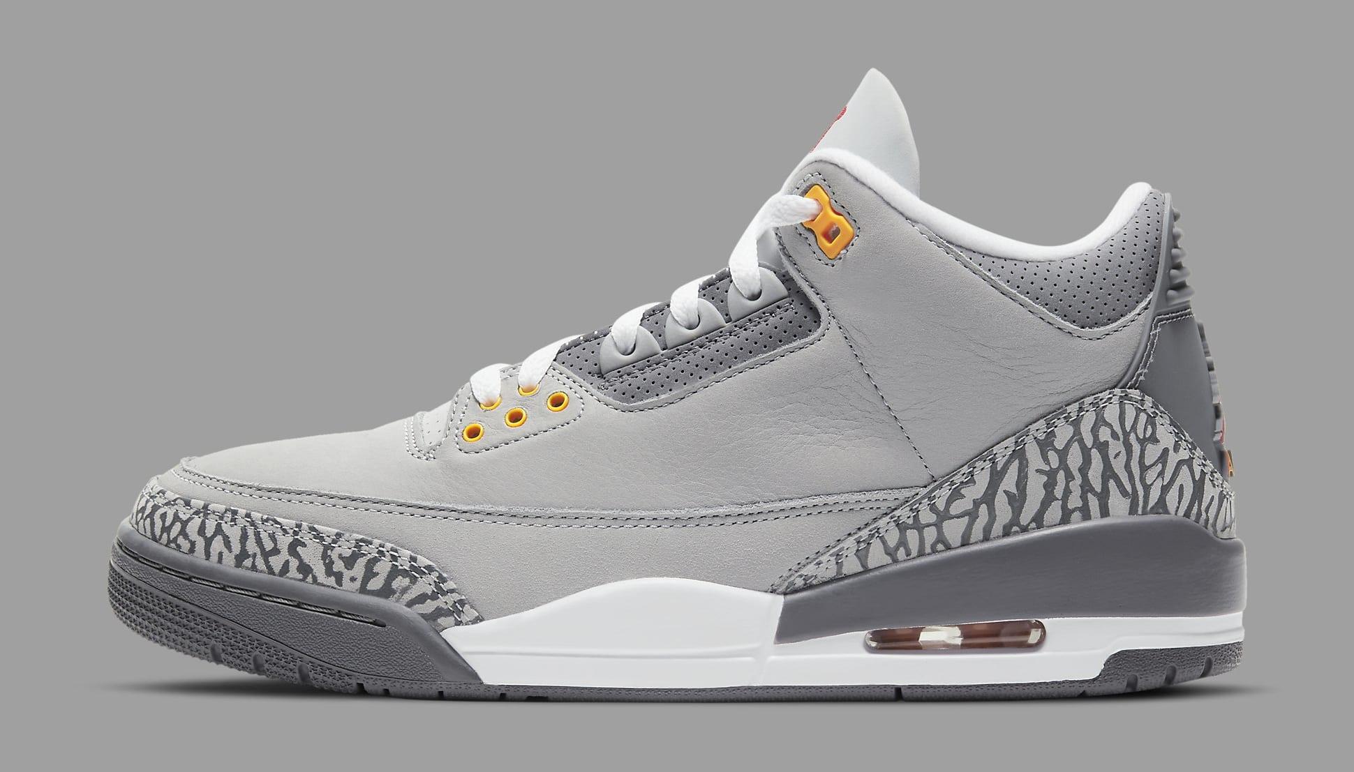 Air Jordan 3 'Cool Grey'