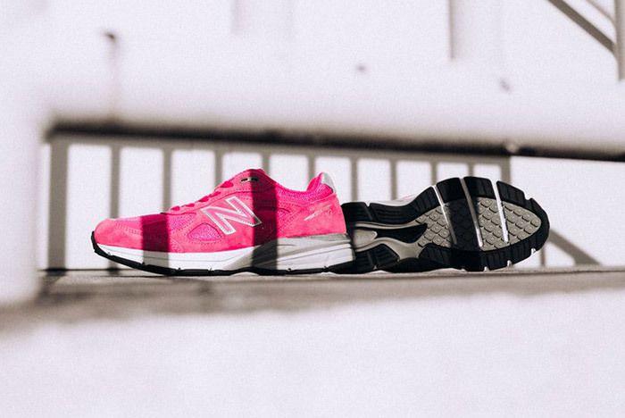 New Balance 990 V4 Komen Pink 1