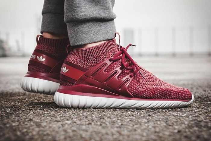 Adidas Tubular Nova Primeknit Mystery Red 2