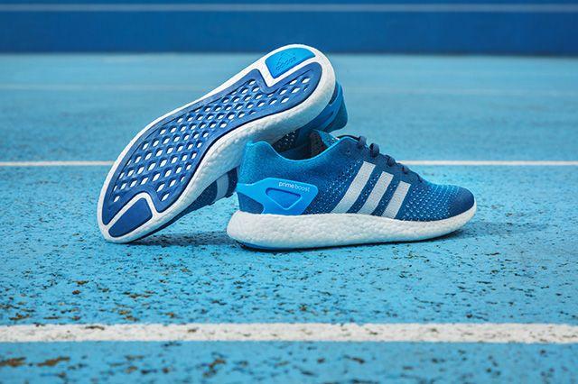 Adidas Primeknit Pure Boost Solar Blue 1