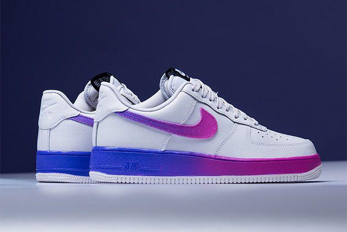 Nike Air Force 1 Low Hyper Grape Cj0524 002 Side Shot 3