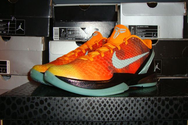 Rebecca Dahms Wmns Basketball Collection Nike Air Kobe 6 Oc 1