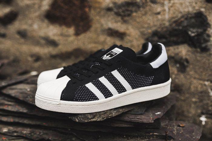 Adidas Superstar Boost Primeknit Black 5