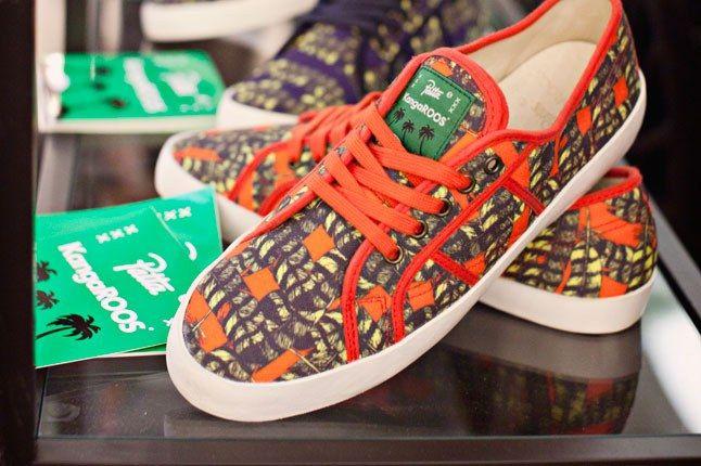 Kangaroos Canvas Sneaker 1
