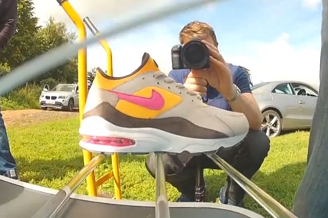 Size Launch The Nike Air Max 93 Into Space