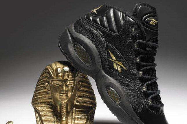 Reebok Question Black Gold New Years Eve Side 1