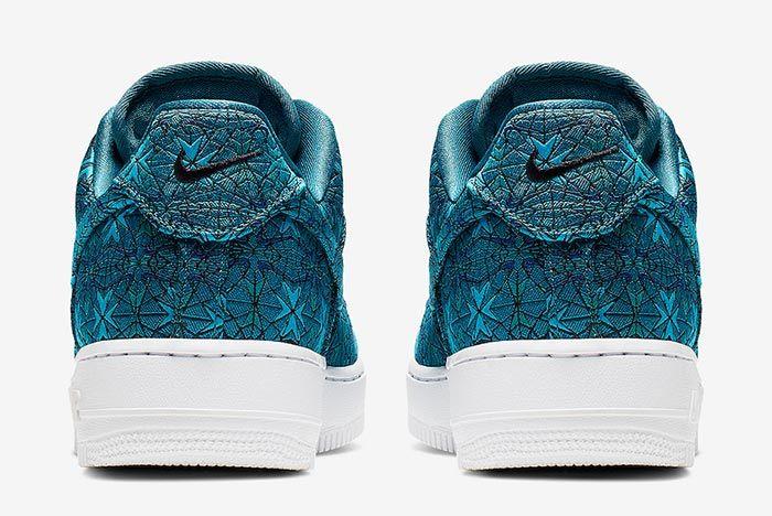 Nike Air Force 1 Low At4144 300 Premium Green Heel Shot
