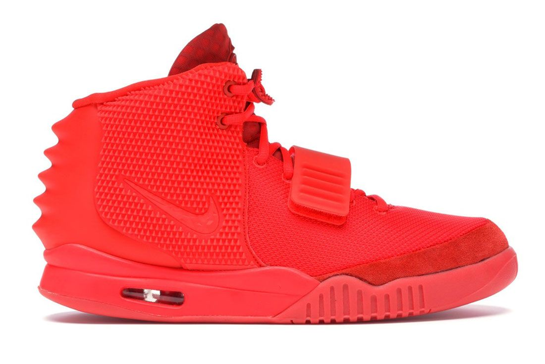 Nike Air Yeezy 2 Red October Lateral Side Shot