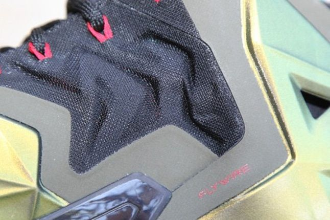 Nike Lebron Xi First Look Midfoot Detail