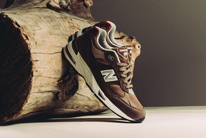 New Balance 991 England Brown Tan 1
