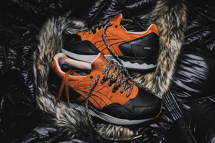 Packer Shoes X Asics Gel Lyte V Scary Coldfeature