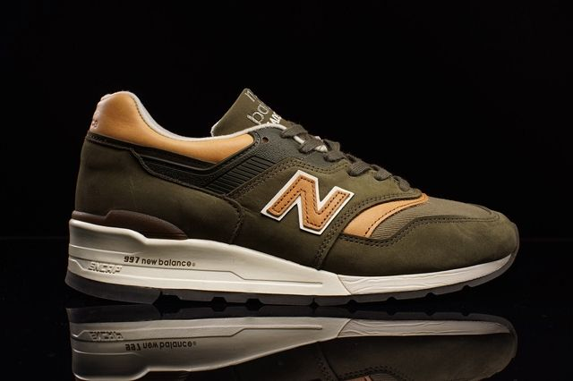 New Balance 997 Olive Chestnut 3
