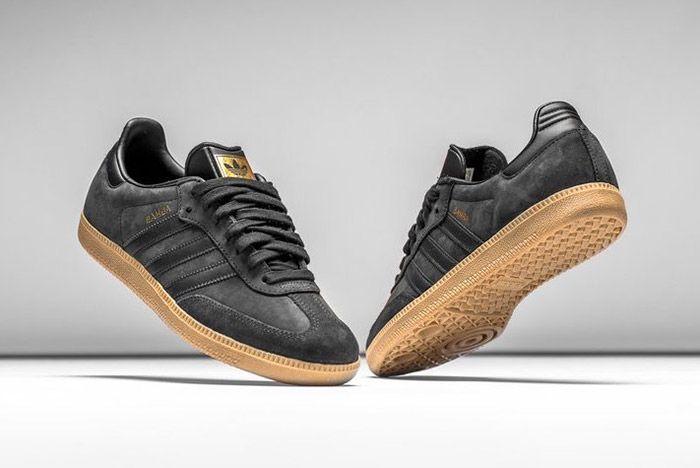 Adidas Samba Black Gum 4