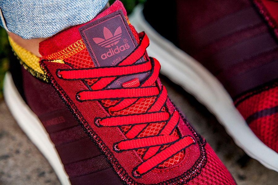 Adidas La Brown Yellow Mens 4