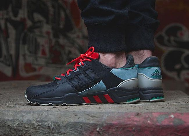 Didas Eqt Running Support 93 Green Earth