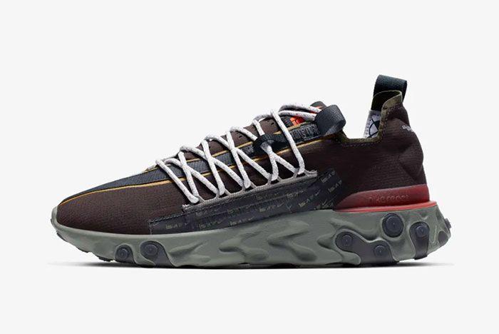 Nike Ispa React Low Velvet Brown Left