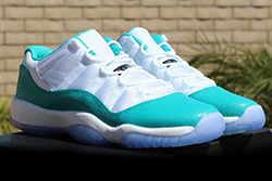 Air Jordan 11 Low Turbo Green Thumb