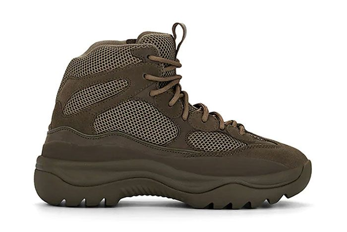 Yeezy Season 7 Military Boot Brown Right