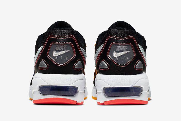 Nike Air Max2 Light Multi Stitch Ck0739 001 Heel Shot