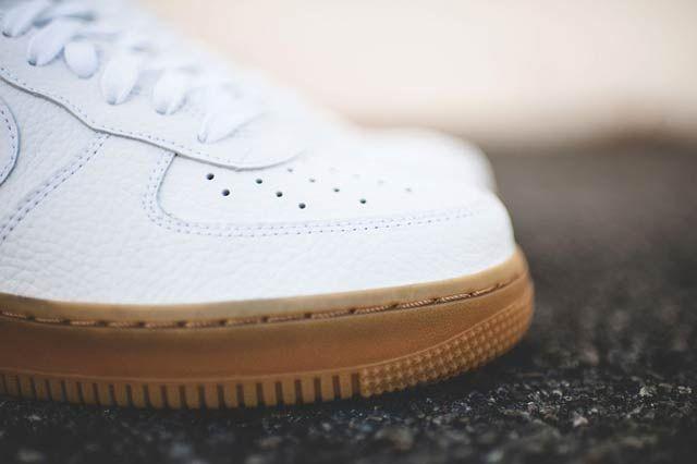 Nike Af1 Low Whitegum5