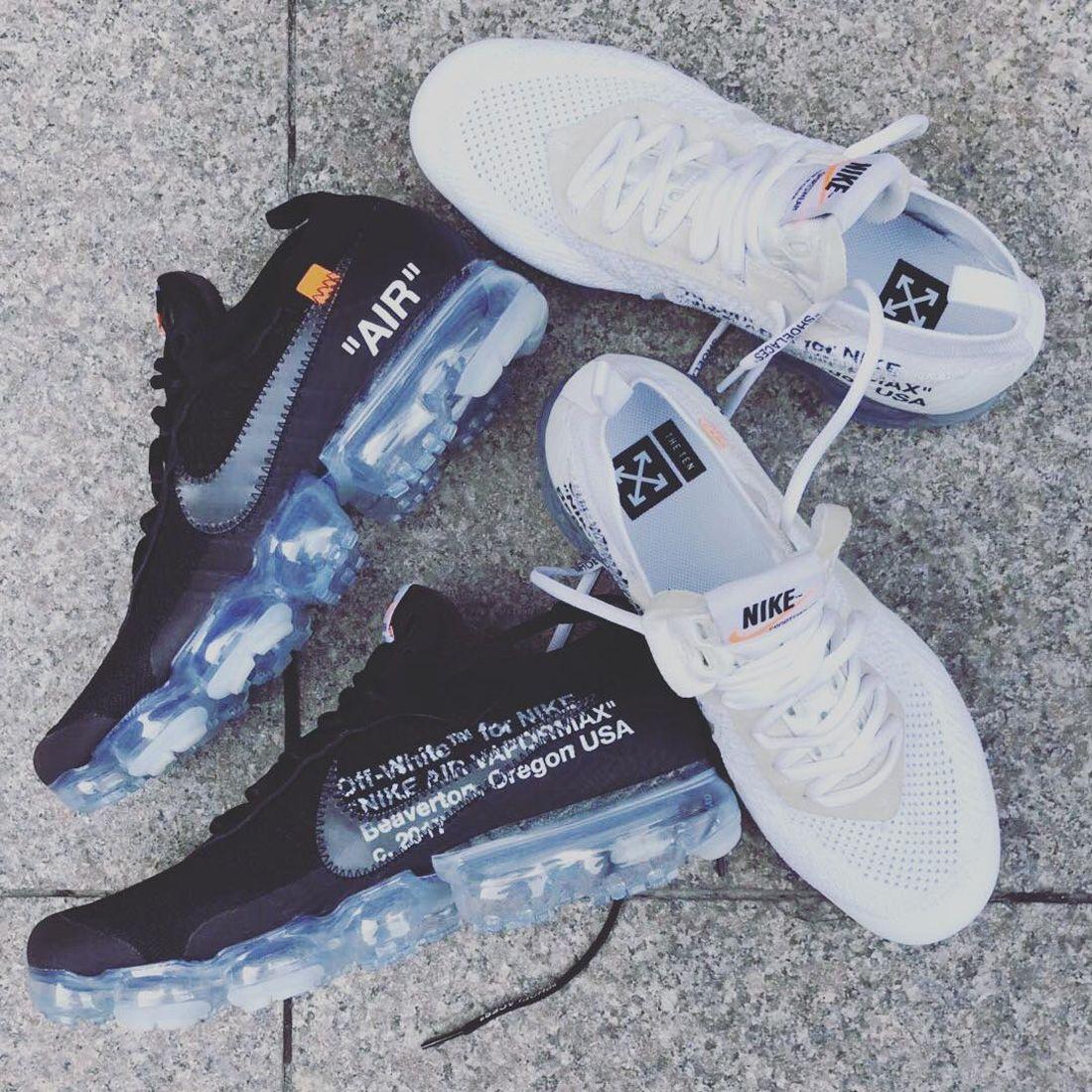 Virgil Abloh Off White X Nike Vapormax 2018 Black White Sneaker Freaker 1