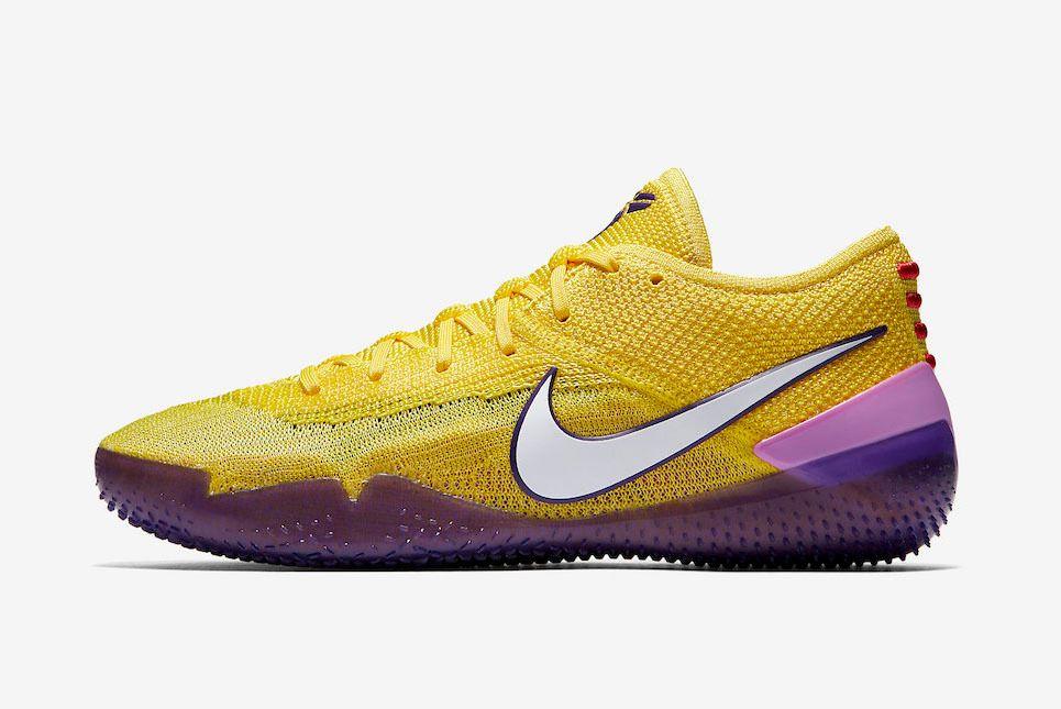 Nike Kobe Ad Nxt 360 Yellow Strike Lakers Aq1087 700 Sneaker Freaker
