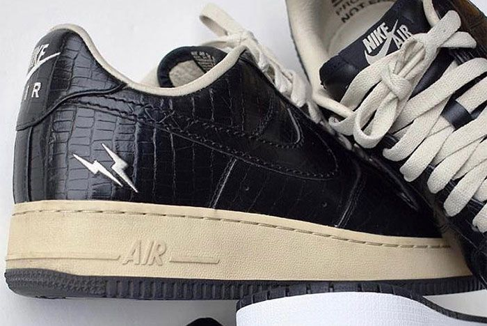 Fragment X Nike Air Force 1 Samples Up Close