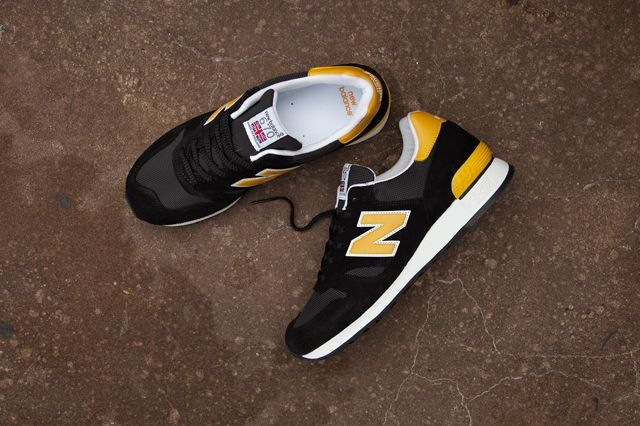 New Balance 670 Black Yellow Pack 5