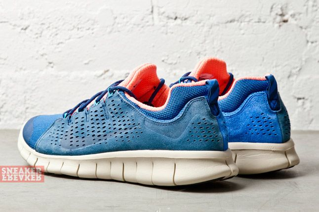 Nike Free Powerlines Ii Ltr Brave Blue Atomic Pink 1