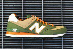 New Balance 574 Green Tan 1