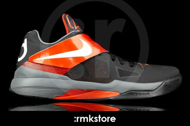 Nike Kd 4 Black Team Orange 01 1