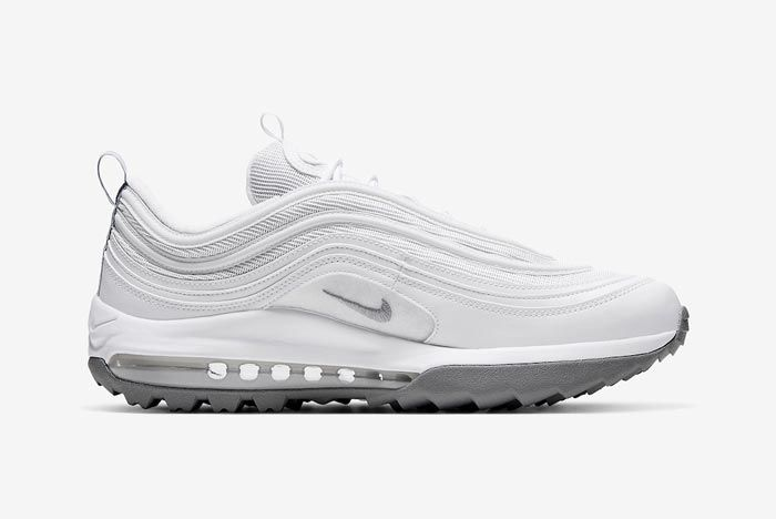 Nike Air Max 97 Golf White Grey Medial