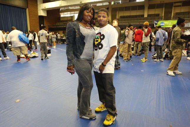 Sneaker Con Charlotte Jordan 4 1