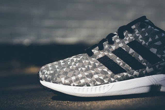Adidas Zx Flux Weave Grey Black 4