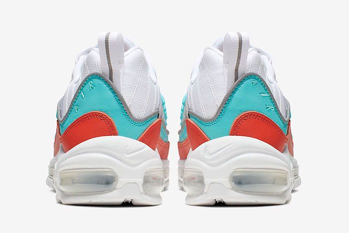 Nike Air Max 98 Cosmic Clay Light Aqua At6640 801 Release Date 4 Heel