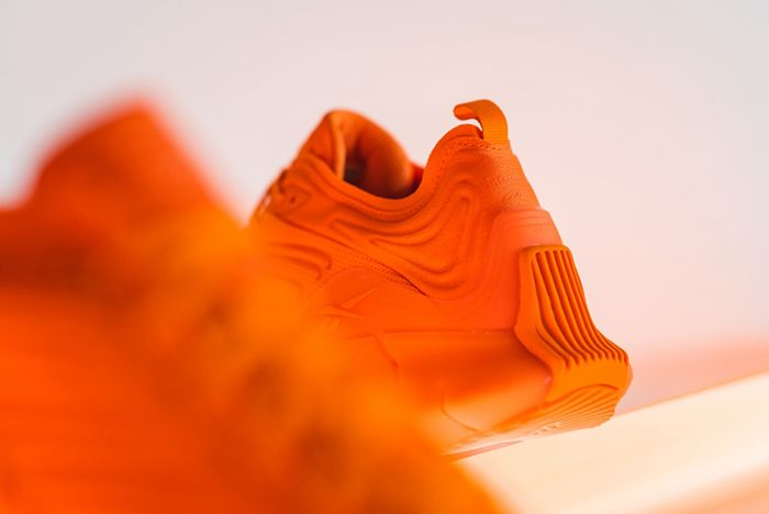 Reebok X Mita Sneaker Zig Kinetica Orange Fw6037 Heel
