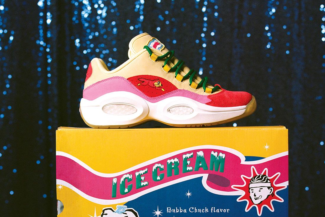 BBC Icecream x Reebok Question Low Running Dog