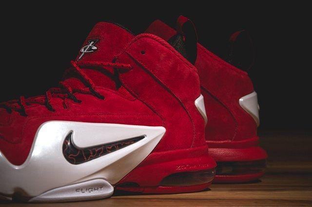 Nike Zoom Penny Vi University Red Bumper 4