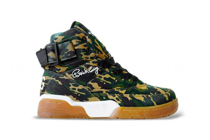 Ewing Athletics Hi 33 Camo Gum 3