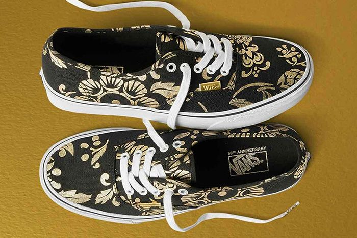 Vans 50 Th Anniversary Gold Collection4