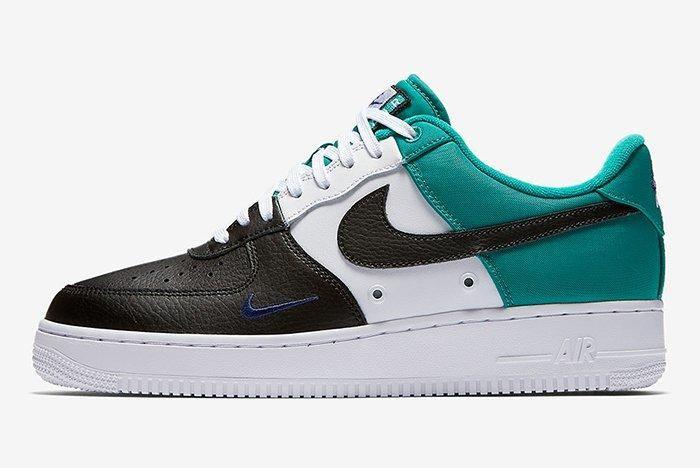 Nike Air Force 1 Mini Swoosh Neptune Green
