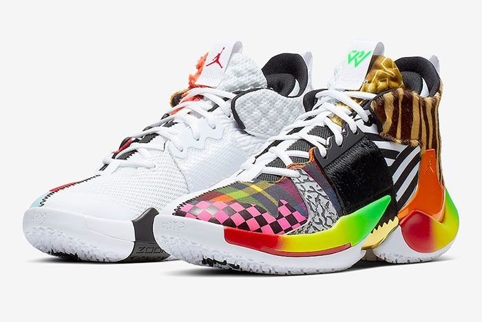 Russell Westbrook Jordan Why Not Zer0 2 Own The Chaos Left